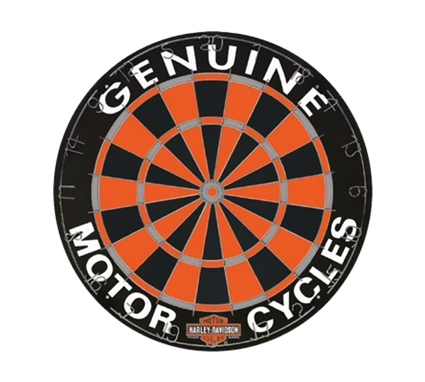 Harley Davidson Competition Bristle Dartboard