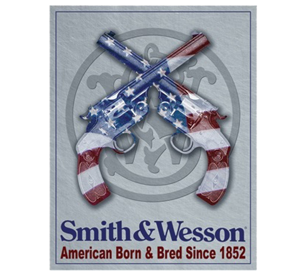 Smith Amp Wesson Metal Sign